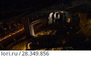 Купить «Wieliczka Salt Mine in southern Poland», видеоролик № 28349856, снято 4 января 2016 г. (c) BestPhotoStudio / Фотобанк Лори
