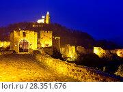 Купить «Fortress in Tsarevets hill, Veliko Tarnovo, Bulgaria.», фото № 28351676, снято 23 октября 2017 г. (c) age Fotostock / Фотобанк Лори