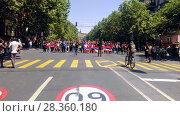 Купить «Улицы Еревана в мае 2018», фото № 28360180, снято 2 мая 2018 г. (c) Агата Терентьева / Фотобанк Лори