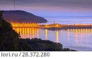 Жигулёвская ГЭС. Стоковое фото, фотограф Акиньшин Владимир / Фотобанк Лори