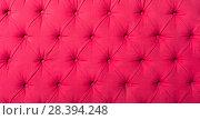 Купить «pink textile with buttons», фото № 28394248, снято 22 мая 2018 г. (c) Яков Филимонов / Фотобанк Лори