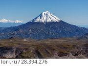Купить «Вилючинский вулкан», фото № 28394276, снято 14 сентября 2016 г. (c) А. А. Пирагис / Фотобанк Лори