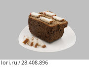 Rye bread and slices of fat. Стоковое фото, фотограф Александр Малышев / Фотобанк Лори