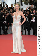 Купить «Stella Maxwell during the red carpet of the film Plaire Aimer et Courir Vite. 71st Cannes Film Festival. Cannes. France 10-05-2018.», фото № 28434172, снято 10 мая 2018 г. (c) age Fotostock / Фотобанк Лори