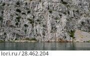 Купить «Mouth of river Zrmanja, northern Dalmatia, Croatia», видеоролик № 28462204, снято 6 сентября 2017 г. (c) BestPhotoStudio / Фотобанк Лори