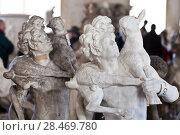Купить «School of sculptors, restoration of sculptures, workshop repair depot», фото № 28469780, снято 2 марта 2014 г. (c) Сурикова Ирина / Фотобанк Лори