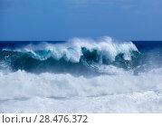 Купить «Gran Canaria, foamy waves», фото № 28476372, снято 10 апреля 2018 г. (c) Tamara Kulikova / Фотобанк Лори