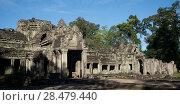 Купить «Ruins of Banteay Kdei temple, Angkor, Siem Reap, Cambodia», фото № 28479440, снято 20 декабря 2016 г. (c) Ingram Publishing / Фотобанк Лори