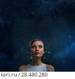 Купить «Future people. Consciousness expansion», фото № 28480280, снято 17 мая 2014 г. (c) Ingram Publishing / Фотобанк Лори