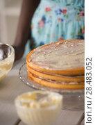 Купить «Unrecognizable Woman Cooking at home. Dessert Concept. Healthy Lifestyle. Cooking At Home. Prepare Food», фото № 28483052, снято 1 декабря 2014 г. (c) Ingram Publishing / Фотобанк Лори