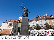 Купить «Варшава. Памятник Яну Килиницкому», фото № 28491240, снято 5 мая 2018 г. (c) Воробьева Анна / Фотобанк Лори
