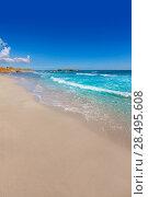 Купить «Menorca Platja de Binigaus beach Mediterranean paradise in Balearic islands», фото № 28495608, снято 30 мая 2013 г. (c) Ingram Publishing / Фотобанк Лори