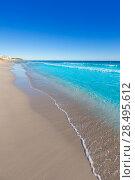 Купить «Menorca Platja de Binigaus beach Mediterranean paradise in Balearic islands», фото № 28495612, снято 30 мая 2013 г. (c) Ingram Publishing / Фотобанк Лори