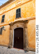 Купить «Ciutadella Menorca Major street in Ciudadela at Balearic islands», фото № 28495848, снято 26 мая 2013 г. (c) Ingram Publishing / Фотобанк Лори