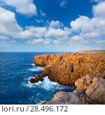 Купить «Menorca Punta Nati sunset in Ciutadella Balearic Islands at Mediterranean sea», фото № 28496172, снято 24 мая 2013 г. (c) Ingram Publishing / Фотобанк Лори