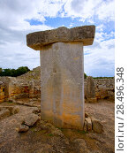 Купить «Menorca Taules Torralba de en Salort Salord prehistoric sanctuary in Balearic islands», фото № 28496348, снято 30 мая 2013 г. (c) Ingram Publishing / Фотобанк Лори