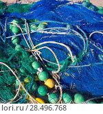Купить «Formentera Balearic Islands fishing tackle nets longliner trawler trammel», фото № 28496768, снято 30 июня 2013 г. (c) Ingram Publishing / Фотобанк Лори