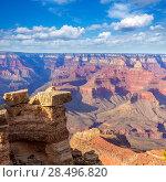 Купить «Arizona Grand Canyon National Park Mother Point in USA», фото № 28496820, снято 14 апреля 2013 г. (c) Ingram Publishing / Фотобанк Лори