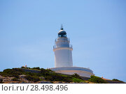 Купить «Ibiza Sa Conillera Conejera island lighthouse in San Antonio», фото № 28498496, снято 6 июня 2013 г. (c) Ingram Publishing / Фотобанк Лори
