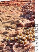 Купить «Fishing nets and tackle of mediterranean fisherboats in spain», фото № 28498792, снято 18 февраля 2006 г. (c) Ingram Publishing / Фотобанк Лори