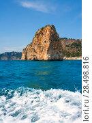 Купить «Isla del descubridor in Cabo Nao Cape at White coast Alicante Spain», фото № 28498816, снято 22 сентября 2019 г. (c) Ingram Publishing / Фотобанк Лори