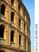 Купить «Plaza de toros de Valencia bullring in spain», фото № 28499260, снято 28 августа 2008 г. (c) Ingram Publishing / Фотобанк Лори