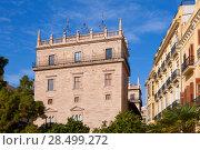 Купить «Palau de la Generalitat Valenciana Palace in Valencia Spain», фото № 28499272, снято 1 марта 2006 г. (c) Ingram Publishing / Фотобанк Лори
