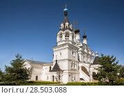 Купить «Cathedral and bell tower of the Annunciation Monastery. Murom, Russia», фото № 28503088, снято 13 мая 2018 г. (c) Юлия Бабкина / Фотобанк Лори