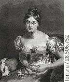 Купить «Marguerite Gardiner, Countess of Blessington, 1789-1849. Irish novelist. From The Magazine of Art published1878.», фото № 28506752, снято 21 января 2019 г. (c) age Fotostock / Фотобанк Лори