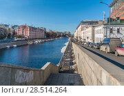 Купить «Водоотводной канал», фото № 28514264, снято 24 марта 2018 г. (c) Виктор Тараканов / Фотобанк Лори