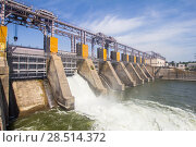 Hydro Power Plant in Dubossary, Moldova. Стоковое фото, фотограф Алексей Ширманов / Фотобанк Лори