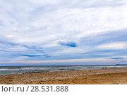 Купить «Beach on the Adriatic Sea. Rimini. Italy», фото № 28531888, снято 9 ноября 2013 г. (c) Евгений Ткачёв / Фотобанк Лори