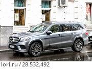 Купить «Mercedes-Benz X166 GLS-class», фото № 28532492, снято 2 мая 2018 г. (c) Art Konovalov / Фотобанк Лори
