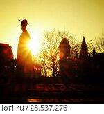 Купить «loveOttawa - Sunset on Canadian War Memorial», фото № 28537276, снято 1 апреля 2018 г. (c) Ingram Publishing / Фотобанк Лори