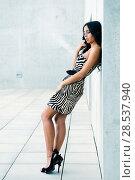 Female model at fashion in the street. Стоковое фото, фотограф Javier Sánchez Mingorance / Ingram Publishing / Фотобанк Лори