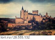 Купить «Segovia with Alcazar and Cathedral», фото № 28555132, снято 16 ноября 2014 г. (c) Яков Филимонов / Фотобанк Лори