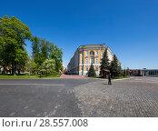 Купить «Inside of Moscow Kremlin, Russia (day)», фото № 28557008, снято 11 мая 2018 г. (c) Владимир Журавлев / Фотобанк Лори