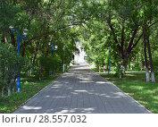 Центральный парк Белогорска (2017 год). Стоковое фото, фотограф antonio2007st / Фотобанк Лори