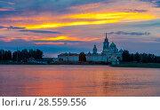 Купить «The Nilo-Stolobensky Monastery, Tver Region, Russia», фото № 28559556, снято 1 августа 2016 г. (c) photoff / Фотобанк Лори