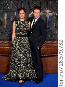 Купить «'Fantastic Beasts' U.K. Premiere - Arrivals Featuring: Hannah Bagshawe, Eddie Redmayne Where: London, United Kingdom When: 15 Nov 2016 Credit: Daniel Deme/WENN.com», фото № 28579732, снято 15 ноября 2016 г. (c) age Fotostock / Фотобанк Лори