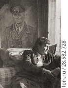 Купить «Frau Rommel. Lucia Maria Rommel, 1894 -1971. Wife of Erwin Rommel, aka Desert Fox, 1891 -1944. German general, military theorist and field marshal in the Wehrmacht of Nazi Germany during World War II.», фото № 28582728, снято 28 января 2020 г. (c) age Fotostock / Фотобанк Лори
