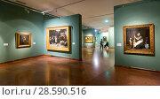 Купить «Exposition of Hungarian National Gallery», фото № 28590516, снято 29 октября 2017 г. (c) Яков Филимонов / Фотобанк Лори
