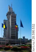 Купить «Administrative Palace in Satu Mare», фото № 28590532, снято 14 сентября 2017 г. (c) Яков Филимонов / Фотобанк Лори