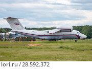 Купить «Ан-72 (бортовой RF-90372) на стоянке, аэродром Мигалово, Тверь», эксклюзивное фото № 28592372, снято 10 июня 2018 г. (c) Alexei Tavix / Фотобанк Лори