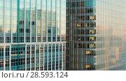 Купить «skyscrapers or office buildings in tokyo city», видеоролик № 28593124, снято 9 июня 2018 г. (c) Syda Productions / Фотобанк Лори