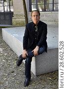 Купить «The writer Glenn Cooper poses for photographers at Literature Festival 2018 in Rome, ITALY-18-06-2018.», фото № 28602528, снято 18 июня 2018 г. (c) age Fotostock / Фотобанк Лори