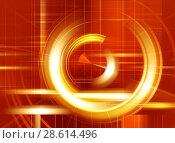 Купить «Abstract glow background for design», иллюстрация № 28614496 (c) ElenArt / Фотобанк Лори