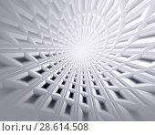 Купить «Abstract soft technology 3d illustration background for design», иллюстрация № 28614508 (c) ElenArt / Фотобанк Лори