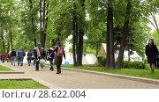 Купить «Historical reconstruction in Moscow, Russia», видеоролик № 28622004, снято 4 июня 2017 г. (c) BestPhotoStudio / Фотобанк Лори