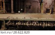 Купить «Recycling of garbage Cardboard paper production», видеоролик № 28622820, снято 14 июня 2018 г. (c) Aleksejs Bergmanis / Фотобанк Лори